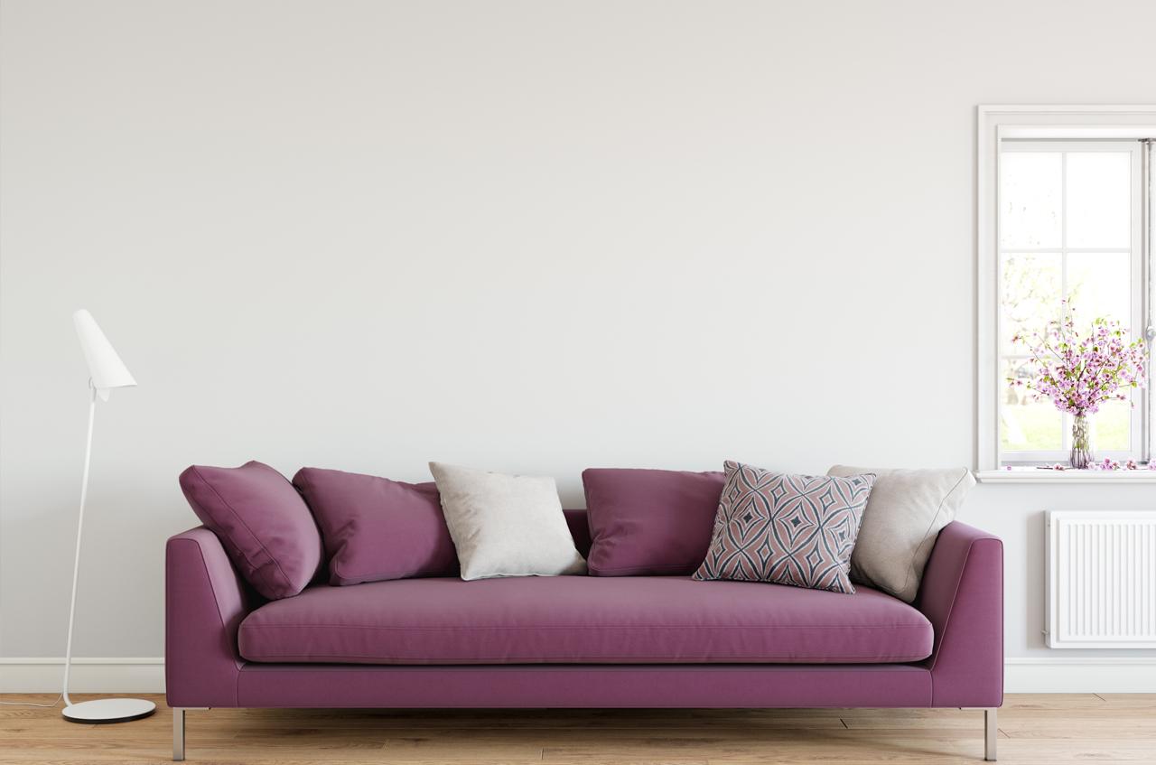 Un sofá, diferentes estilos