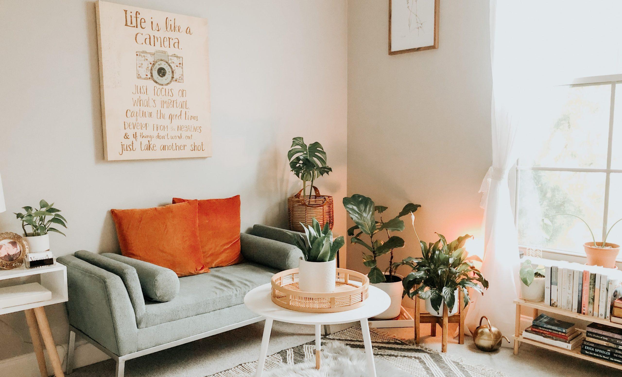 ▷Cómo crear armonía en tu salón con el textil del hogar.