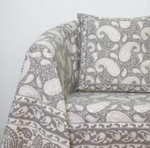 foulard sofá